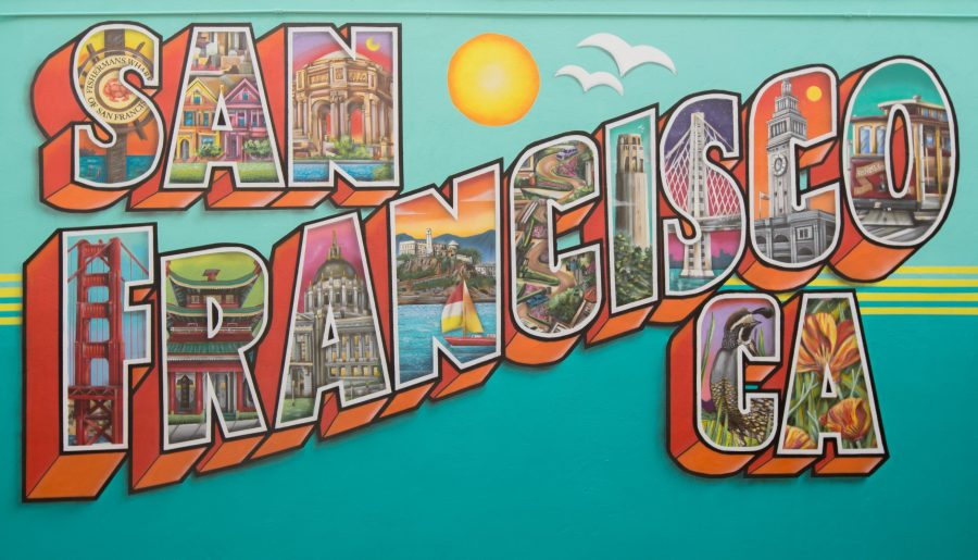 Every Letter Tells a Story –  Mural spells out history, architecture and tales of San Francisco