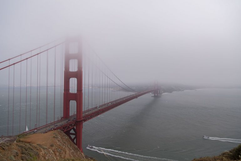 Karl the Fog at the Golden Gate Bridge
